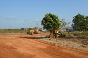 Execução estrada vicinal – Parnaíba/PI