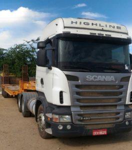 Scania/prancha